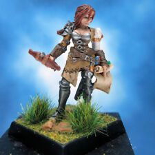 Painted Female Archer Miniature