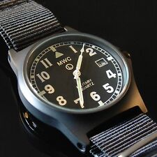 MWC G10 PVD Military Watch, Date 50m Water Resistance NEW BOXED Authorised Deale