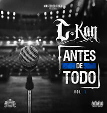 C-Kan - Antes de Todo Vol. 1 [New CD] Explicit, Digipack Packaging