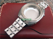 Stainless Steel Replacement Railroad Bracelet For Sport5 6139-6010 6012 6019