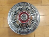 """15"""" FORD TRUCK BRONCO ORIGINAL HUBCAP WHEELCOVER (1) USED H#948 #C6AA1130A 66-68"""
