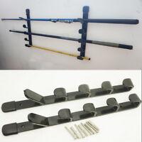 Fishing Rod Rack Pool Cue Holder 5 Items Fish Gear Storage Organiser