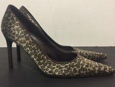 Bottega Veneta Cheetah Heels Pumps Shoe Size EU 37 ( US 7)