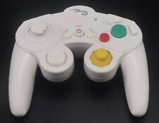 Pelican Wireless GameCube Controller No Receiver White Gaming Control Tested
