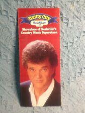 "NOS 1987 CONWAY ""TWITTY CITY MUSIC VILLAGE USA NASHVILLE'S SHOWPLACE"" BROCHURE"
