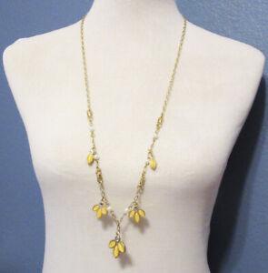 Lia Sophia Jewelry Lotus Necklace in Gold RV$98