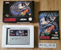 Super Nintendo SNES Batman Forever PAL