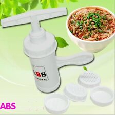 New Kitchen ABS Spaghetti Pasta Noodle Maker Press Juicer Machine