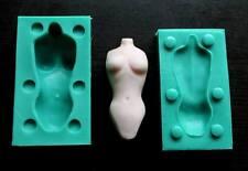 Silicone Mould 3D WOMAN TORSO Sugarcraft Cake Decorating fondant fimo mold