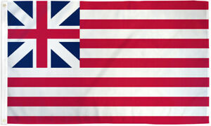 Grand Union Flag 3x5ft American Historical Flag Continental Union Flag Colonial