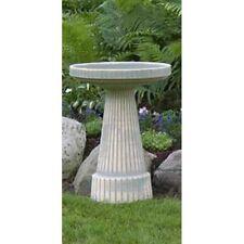 Burley Clay Moss Universal Ceramic Bird Bath