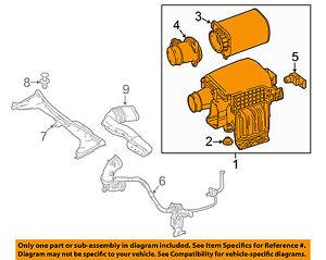 Mercedes MERCEDES-BENZ OEM Air Cleaner Intake-Filter Box Housing 2740901701