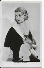 RARE PARAMOUNT MOVIE STAR,PICTUREGOER POSTCARD,ACTRESS,CONSTANCE BENNETT,RP