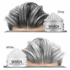 temporary hair color wax men diy mud One-time Molding Paste Dye cream hair gel