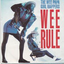 The Wee Papa Girl Rappers-Wee Rule vinyl single