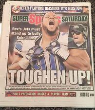 New York Post Sept 27,2014 Derek Jeter Expected To DH Final 2 Games Of Career