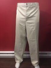 DOCKERS Men's Original Signature Khaki Flat Front Pant - Size 52W x 30L - NWT$85