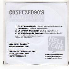 (FO519) Confuzed 90's, 4 track sampler - DJ CD