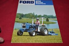 Ford 1100 1200 1300 1500 1700 1900 Tractor Dealer's Brochure YABE15