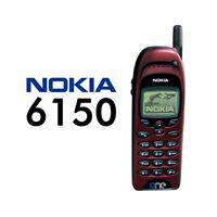 TELEFONO CELLULARE NOKIA 6150 ROSSO RED CANDY BAR GSM GIOCHI RICONDIZIONATO-
