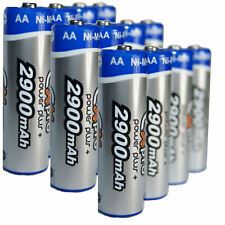 Ex-Pro® Power Plus+ Rechargeable Ni-Mh Batteries - AA Size [2900mAh] - 12 Pack