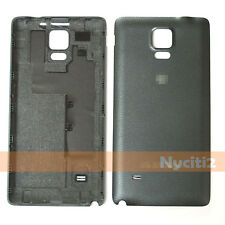 Black Battery Back Cover For Samsung Galaxy Note 4 N910F N910 N910T N910V AT&T
