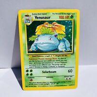 Venusaur Holo 15/102 Base Set Pokemon Card