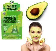 W7 Super Skin AVACADO Superfood Face Mask Nourish Brighten & Glowing Skin