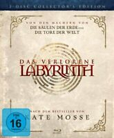 Das Verlorene Labyrinth Blu-Ray Ollector's Edición Columnas la Tierra Tore Mundo