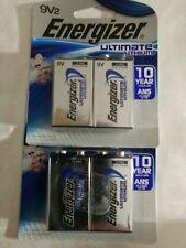 4 Count Energizer Ultimate 9V Lithium Batteries