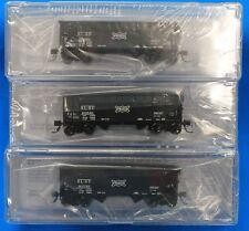 BLUFORD SHOPS 66183 READING 2-Bay Offset side Hopper Car 3-Pack N Scale