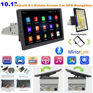 "10.1"" Android Rotate Horizontal/Vertical Screen Car Media Radio GPS Navigation"