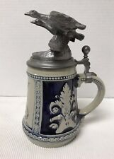New listing 1985 Gerzit West Germany Stein Michael Ricker Pewter Geese Soaring