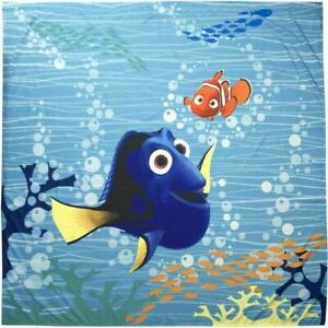 "New Disney Pixar Finding Dory Shower Curtain 70"" x 72"" Bathroom Bath Room Water"