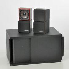 Bose Acoustimass II Subwoofer mit 2 Stück Doppelcube Speakers