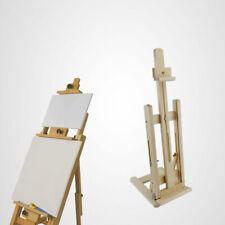 Cavalletto Pittorico In Legno Con Base Per Appoggiare E Dipingere Quadri Arte
