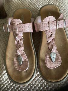 MBT Pink Rocker Sandals Size 7