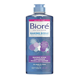 Biore Baking Soda Cleansing Make Up Removing Micellar Water for Combination 300
