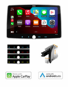 BOSS Audio Systems Elite Series BCPA9 - Single Din, Detachable 9 Inch Touchscree