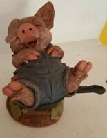 Tom Clark/ Tim Wolfe - COUNTRY HAM - pig - Rare - Edition #1 - signed by Tim