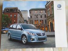 VW Routan range brochure 2009 USA market