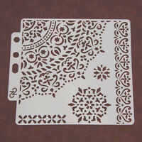 Craft Layering Stencils Template For Home Walls Painting Scrapbooking Stamping