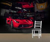 3D Garage Q74 Auto Tapete Wandbild selbstklebend abnehmbare Acmy