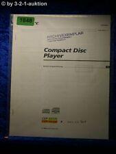 Sony Bedienungsanleitung CDP XE530 /XE330  CD Player (#1848)