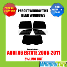AUDI A6 ESTATE 2006-2011 5% LIMO REAR PRE CUT WINDOW TINT