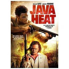 Java Heat (DVD, 2013 WS) Mickey Rourke  Kellan Lutz   NEW