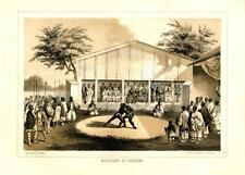 Wrestlers at Yokuhama  -  Sumo Wrestling  -  Admiral Perry Expedition   -   1856