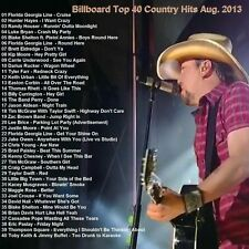 Country Promo DVD, Billboard Top 40 Country Hits Aug 2013 BEST Hits Only on Ebay