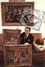 EDWARD G. ROBINSON publicity photo 1950s art collector