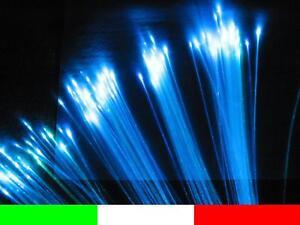 KIT FIBRA OTTICA CIELO STELLATO 300 PUNTI LED RGB CAMBIACOLORE 9w R6